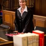 Pamela im Gerichtssaal, am .