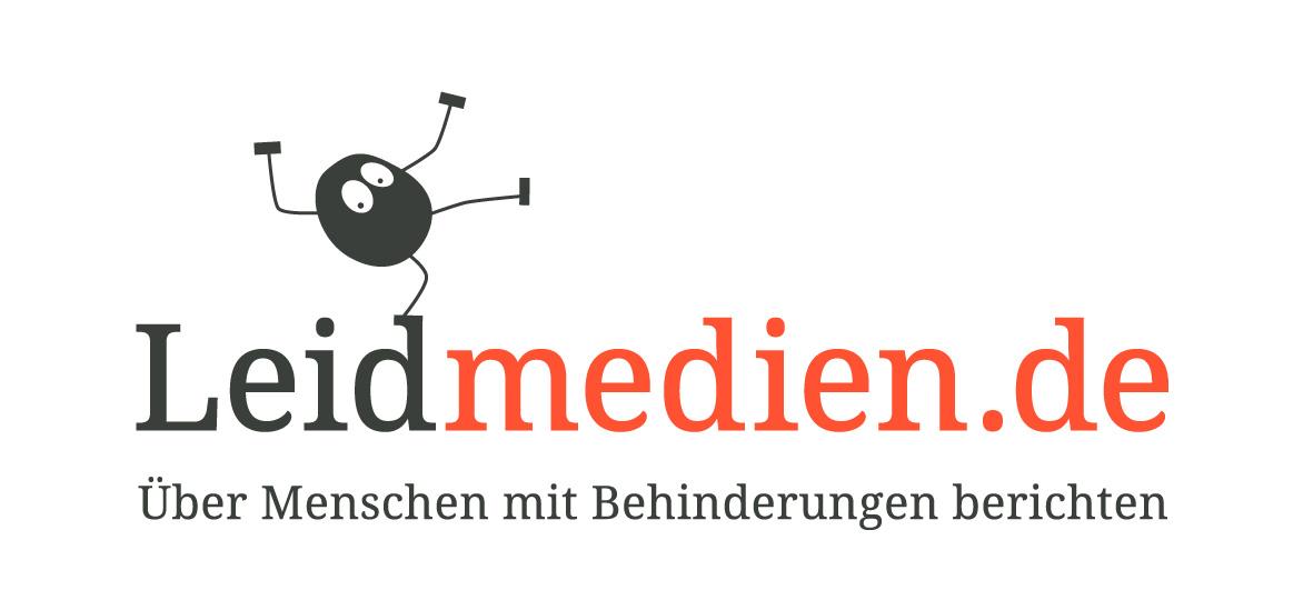 Logo des Projekts Leidmedien.de – Über Menschen mit Behinderungen berichten