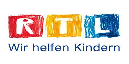 Logo von der RTL Stiftung - Wir helfen Kindern e.V.